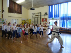 year 4 karate