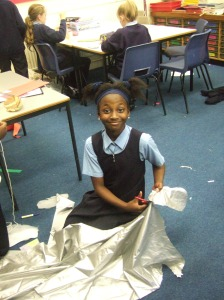 Hard at it! Year6
